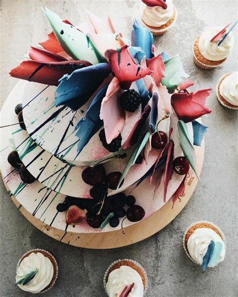 Kalabasa Bakery?s jaw dropping cakes look like 3D brushstrokes