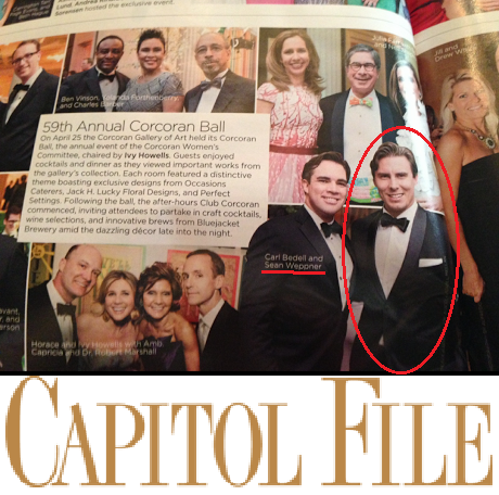 JBD Clothiers | Premium Men's Custom Clothing |   JBD Clothiers client Sean Weppner featured in Capital File Magazine