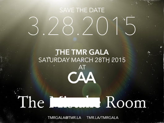 Save the Date: The Mistake Room Gala 3/28/15 | Art Nerd Los Angeles