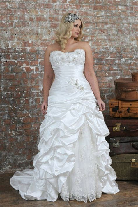 strapless wedding dress bridal gown custom  size