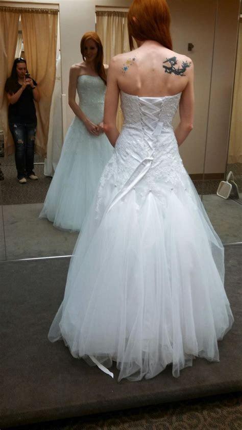 Bustle for tulle wedding dress suggestions?   Weddingbee