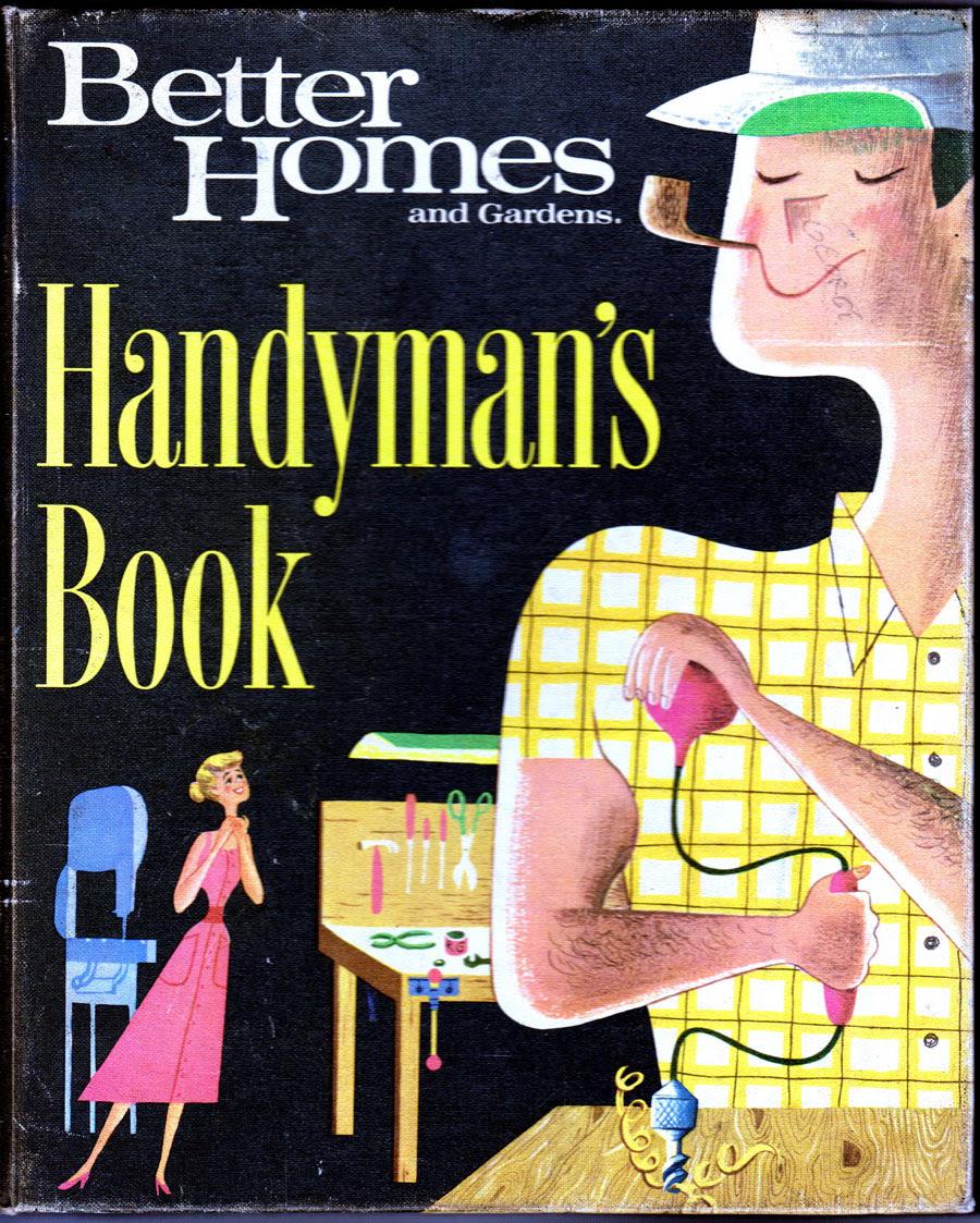 BH & G Handyman's book cover (1957-1966)