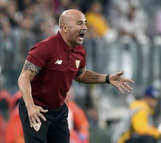 Jorge Sampaoli Juventus x Sevilla (Foto: Reuters)