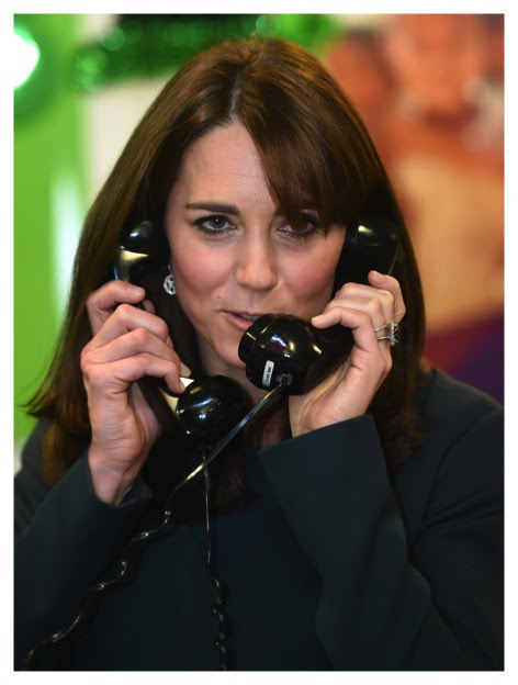 Hello, This is Kate Middleton. Do You like My Hair? - The Duchess Diary