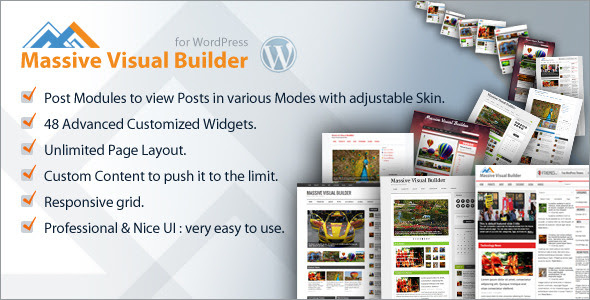 Massive Visual Builder - WordPress Page Builder