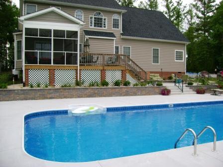Swimming Pools And Retaining Walls