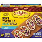 Old El Paso Taco Boats, Flour Tortilla, Mini - 20 tortillas, 8.5 oz