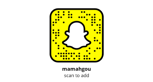 Add me on Snapchat! Username: mamahgou