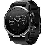 Garmin fenix 5S Training Watch - Silver/Black (010-01685-02 / FENIX5SSLVBK)