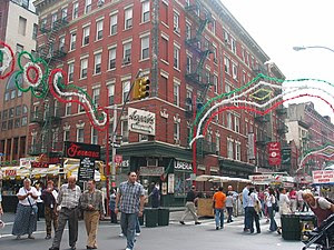 Feast of San Gennaro in New York.