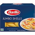 Barilla Jumbo Shells - 12 oz box