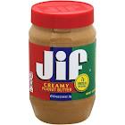 Jif Creamy Peanut Butter - 40 oz jar