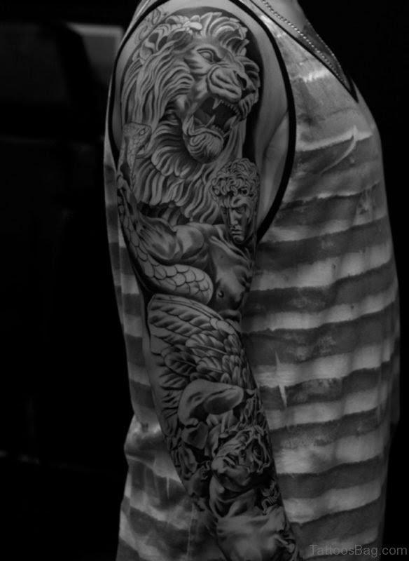101 Stylish Men Full Sleeve Tattoos