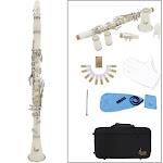 clarinet abs 17 key bb flat soprano binocular clarinet