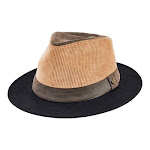 Men's San Diego Hat Company Cut and Sew Fedora SDH3330, Adult