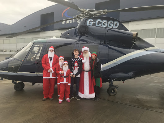 Hospice Santa Dash fundraising really takes off thanks to Multiflight