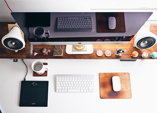 Eyestrain and Weight Gain: How to Avoid Common Risk Factors of a Desk Job | JUST™ Creative