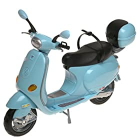 Motor Scooters Review on Barbie Vespa Motor Scooter Toys Games Reviews