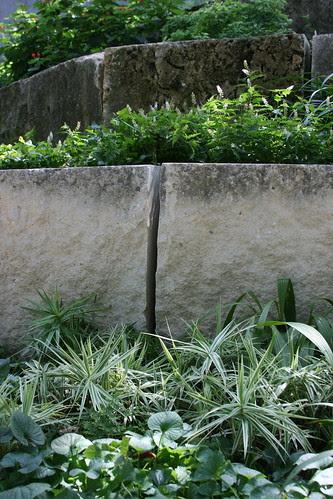 Garden on Turtle Creek substantial stone