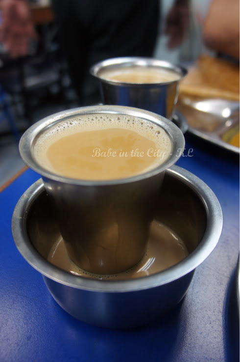 Fresh cow's milk masala tea