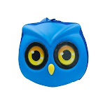 Milah's Friends Owl Backpack Blue