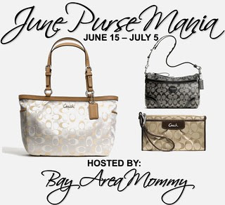Bay Area Mommy's 16k Purse Mania Giveaway