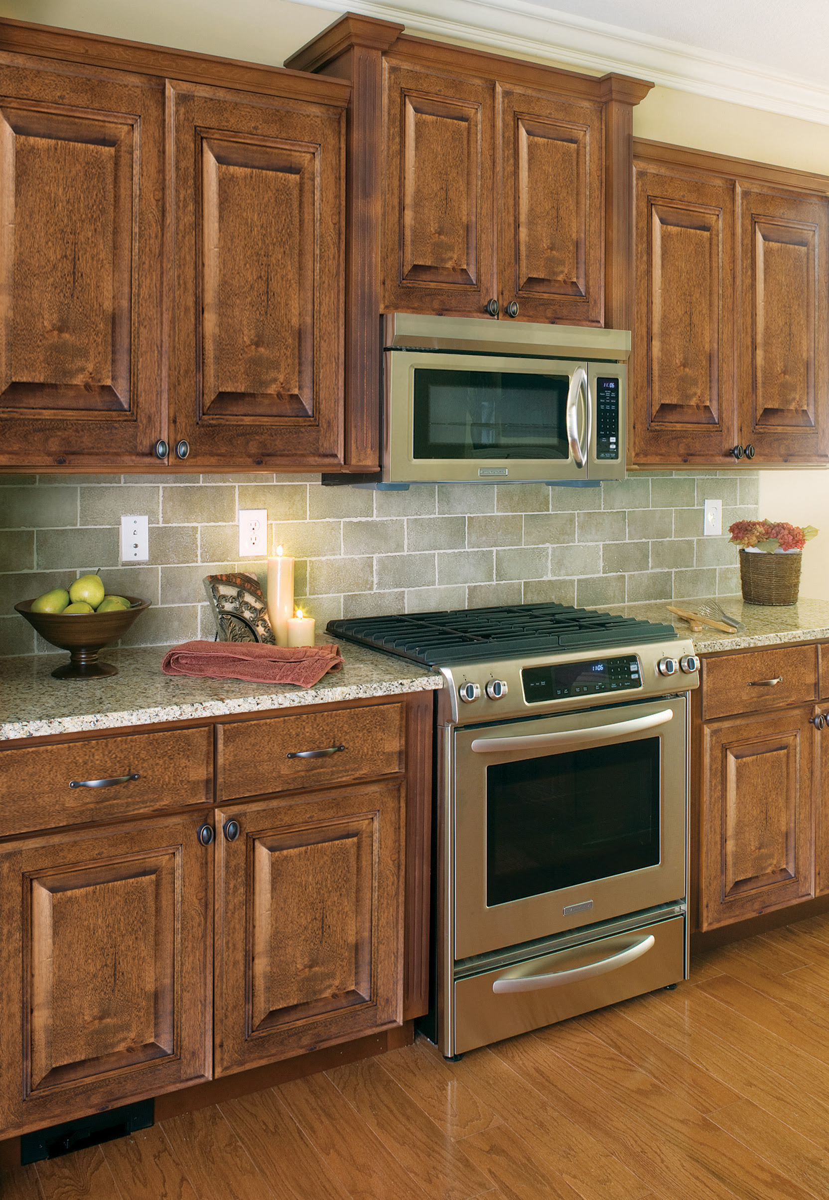 Mocha Distressed | Heritage Classic Cabinets