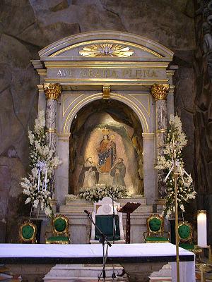 Virgin of Rosary in las Lajas Cathedral
