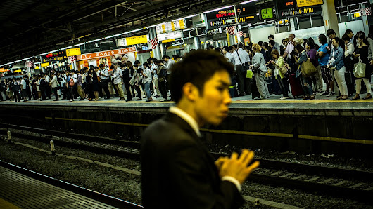 Japanese railway cameras automatically spot drunk commuters to save their lives