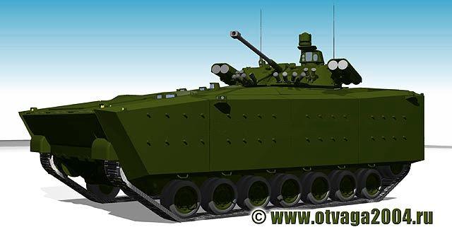 Las fuerzas de tierra del ejército rusos planean renovar el 70% de su flota con nuevos carros de combate blindados y principales para el 2020, dijo el portavoz del Ministerio de Defensa de Rusia, el mayor Kiril Kiselev. Añadió que Rusia va a adquirir el nuevo tanque de batalla principal Armata, la ruedas blindado Boomerang y el nuevo vehículo de combate de infantería Kurganets-25.