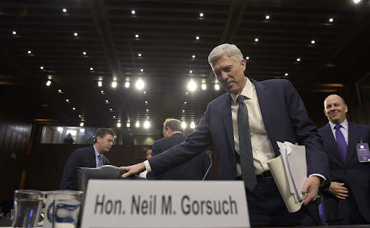 Democrats should filibuster Neil Gorsuch. His record shows why.
