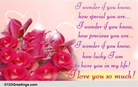 I Love You So Much! Free Madly in Love eCards, Greeting