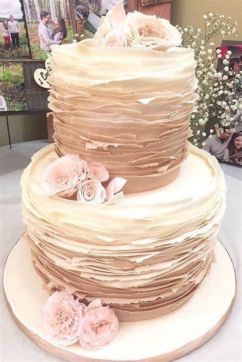 Rustic Ruffle cake   CakesDecor