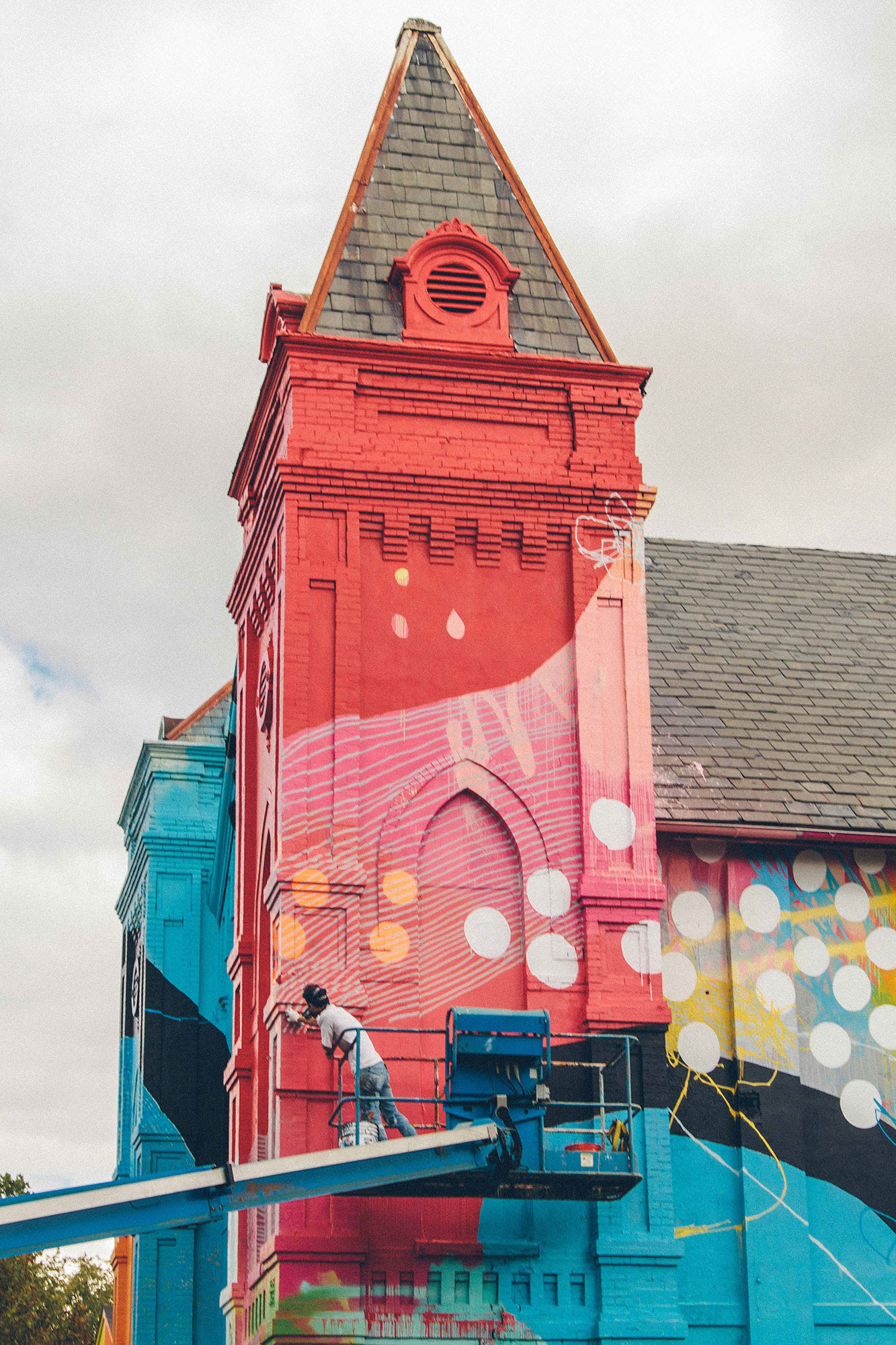 From Old Church To Contemporary Art by HENSE | The Dancing ...