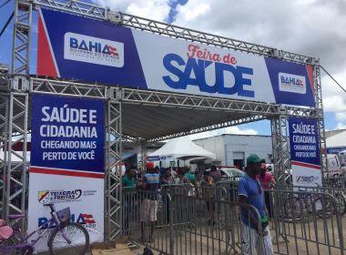 Teixeira de Freitas: Feira de Saúde deve atender 6 mil pessoas do Extremo Sul da Bahia