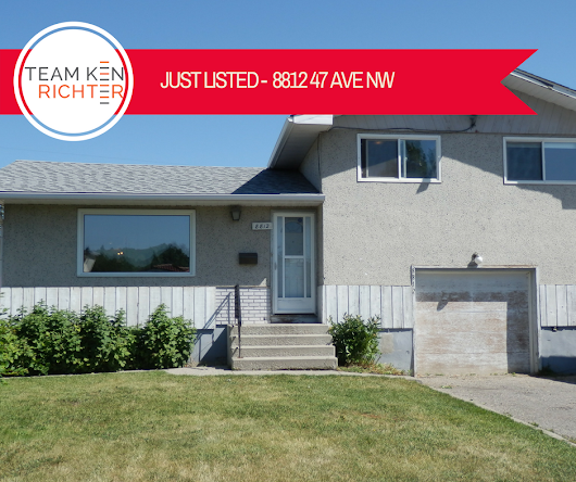 Listed: 8812 47 Avenue Northwest