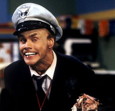 Jim Carrey as Fire Marshall Bill on the original IN LIVING COLOR.