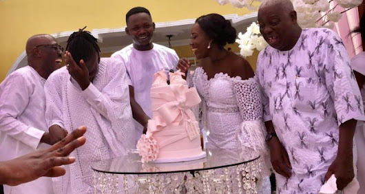 Photos from the naming ceremony of Stonebwoy's daughter, Catherine-Jiluda - AmeyawDebrah.Com