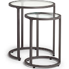 Studio Designs Home Camber NESTING - Table set - round - clear