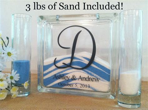 Unity Sand Set Wedding Sand Set Unity Sand Ceremony Set