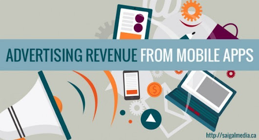 Saigalmedia - How to Generate Advertising Revenue from Mobile Apps