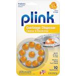 Plink Garbage Disposal Cleaner and Disposer Deodorizer 10 Treatment Pack - Orange Scent