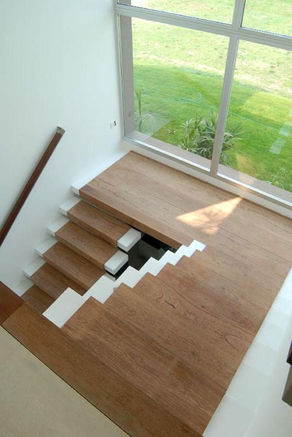 Dise o de escaleras 48 tecno haus for Escaleras en u