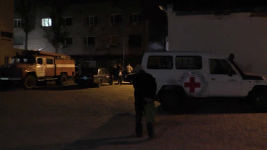 Where is the outrage?! Kiev shells Red Cross's Donetsk HQ, kills Swiss worker -- Sott.net