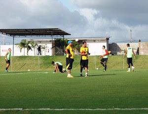 Higor César, técnico do Globo FC (Foto: Canindé Pereira/Divulgação)