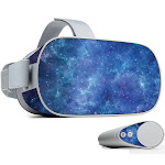 MightySkins OCGO-Nebula Skin for Oculus Go Mobile VR Nebula