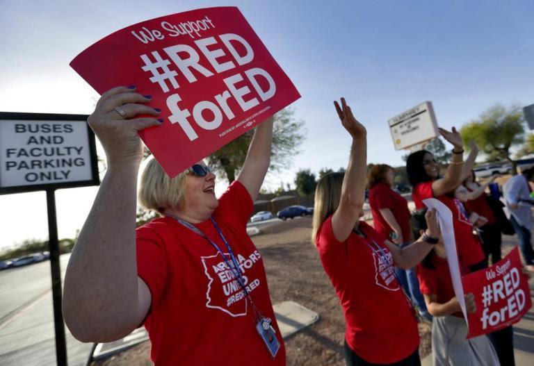 Image result for Arizona teacher strike
