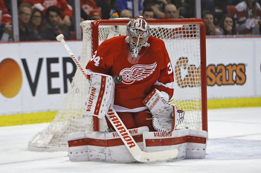 Red Wings, Petr Mrazek appear headed to arbitration hearing today