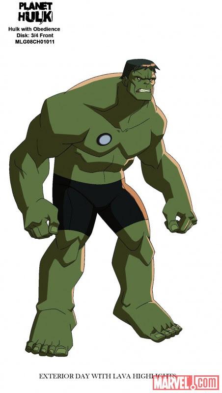 Planet Hulk - DVD & Blu-ray