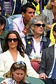 pippa middleton sits in royal box at wimbledon with her husband 01